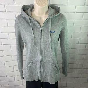 Oakley Women's Gray Full ZIp Sweatshirt XS Hoodie